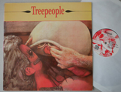 1992 LP Treepeople – Something Vicious For Tomorrow / Time Whore - C/Z Records