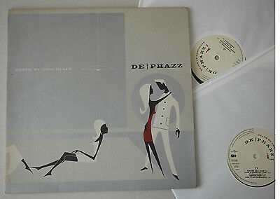2 LP - DE PHAZZ - Death by Chocolate - 2001 Germany