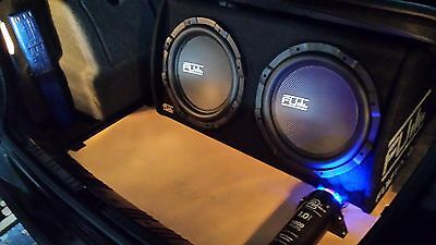 """2 x 12"""" Active Subwoofers 2000W with Built-in Amplifier- FLI Underground"""