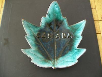 Canadian Pottery Trinket Dish - Maple Leaf