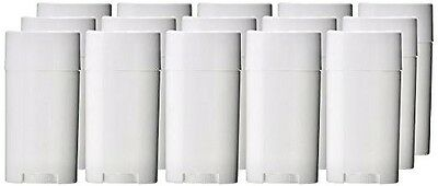 Empty Deodorant Containers 2.5oz Make and Store Your Own Deodorant! (15 Pack)