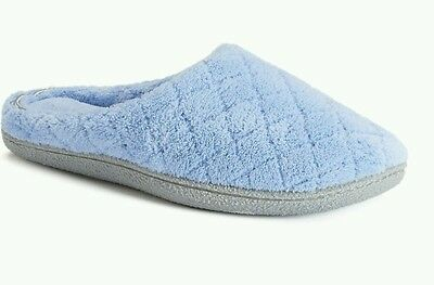 new Dearfoams Women's Quilted Velour Clog Slippers Size L(9-10)