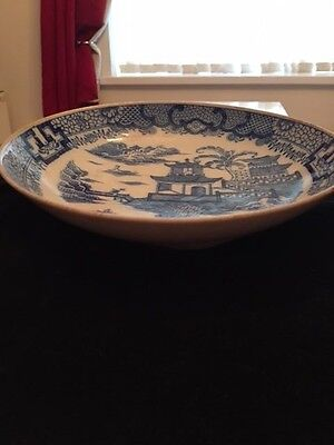 Japanese 19th century antique shallow dish