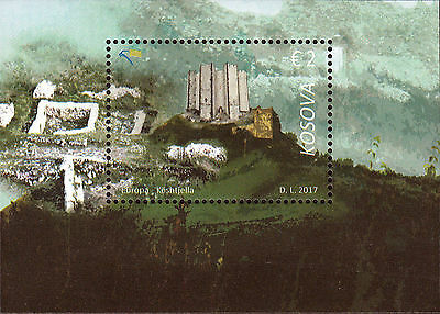 Kosovo Stamps 2017. Europa CEPT, Castles, Fortresses. Block MNH.