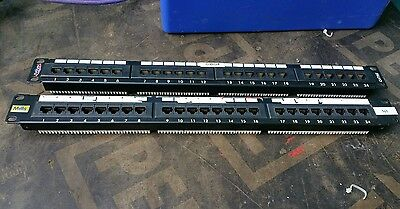 "CAT5e 24 Port Patch Panel 1U 19"" RJ45 (Mills / Syzygy)"