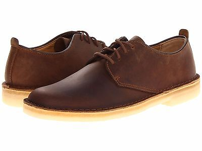c5af8b33 MEN'S SHOES CLARKS Desert London Leather Lace Up Shoe 07880 Beeswax *New*