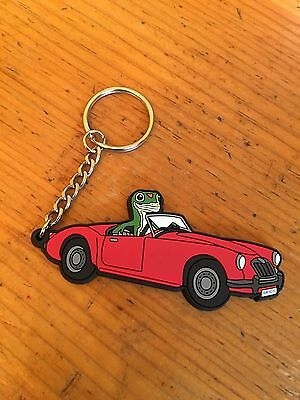 Vintage Rare Collectible Geico Gecko  as Key Chain Ring Advertising
