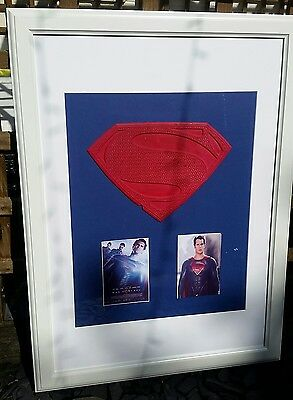 Superman Man Of Steel Chest Emblem Production Made Costume Prop Wardrobe