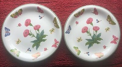 10 1/4 Inch Dinner Plate Butterflies By Trisa