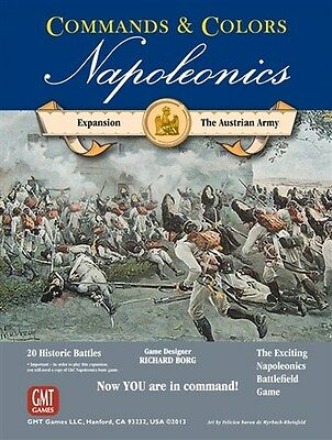 Commands and Colors Board Game: Napoleonics Expansion: Austrian Army