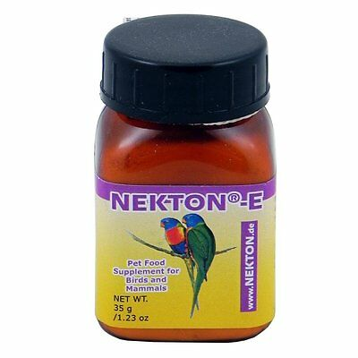 Nekton E Bird Powdered Vitamin Feather Supplement 1.23 Oz. Free Ship To The Usa
