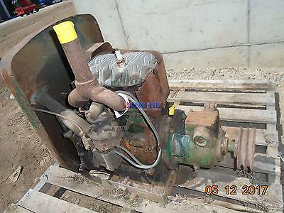 """Wisconsin Vintage """"TF"""" Power Unit Engine Complete Non Running Core ESN: 1808009"""