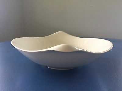 "Classic Century by Eva Zeisel for Crate & Barrel 12"" Ivory Serving Bowl"