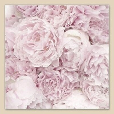 3 Paper Napkins for Decoupage / Parties / Weddings - Peony