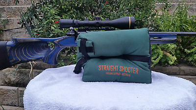Portable Outdoor Tack Driver Rifle Shooting Bag Gun Rest Target Sports Bench