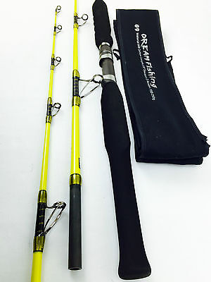 "YUANWEI DREAM FISHING FISHING ROD GAME ROD CARBON FIBRE JIGGING 5'6"" Sale"