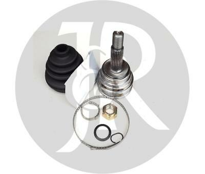 SEAT IBIZA 1.4 FR DRIVE SHAFT HUB NUT /& CV JOINT OUTER BOOT KIT 2009/>ONWARDS