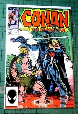 Conan The Barbarian #198 Marvel Comics Copper Age Comic  CB731