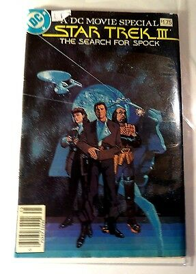 Star Trek The Search For Spock Special Movie Adapt DC Copper Age  CB2244