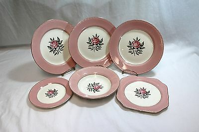 Cunningham Pickett Norway Rose Set of 6