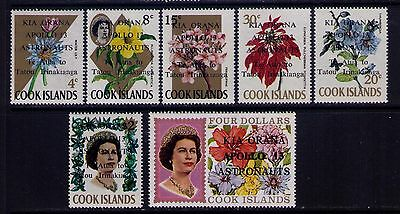 Cook Islands Stamps, Apollo Astronauts ,SC # 277-83 Cp.MNH Set