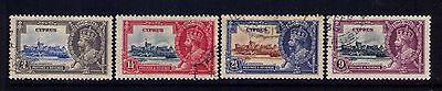 Cyprus 1935 Stamps, SC # 136-9 Cp.Used Set