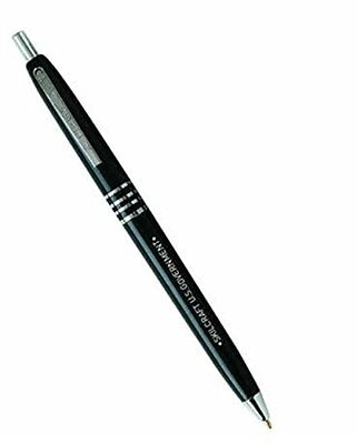 Skilcraft U.S. Government Retractable Ball Point Pen Fine Black Ink Box Of 12 75