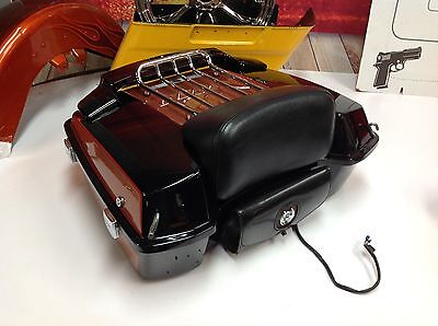 OEM Harley Touring 105th Anniversary Chopped Tour Pack Pak Backrest