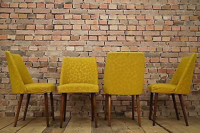 50s dining room chairs 4 x Mid Century Design Cocktail Set Vintage Rockabilly