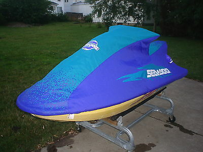 SEA DOO HX Vacu-Hold Cover Purple & Teal OEM New In Original Box OEM