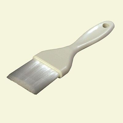 Carlisle 2 in White Galaxy Pastry Brush kitchen Quality Smooth Finish Easy Clean