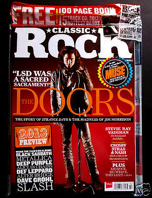 The Doors/ Classic Rock/Strange Days Special, Rare Morrison Cover + CD & Book!