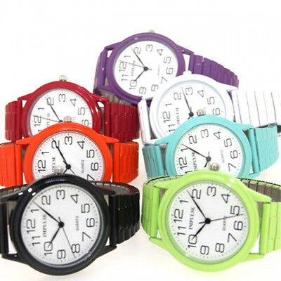 Impulse Ladies Colourful Stretch Band Watches Large
