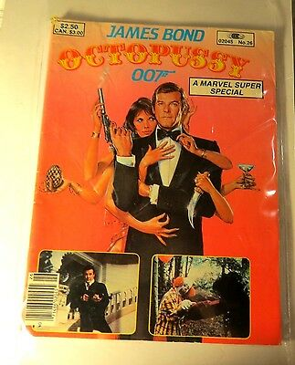 Marvel Super Special #26 James Bond Octopussy Bronze age  Vintage  MG84
