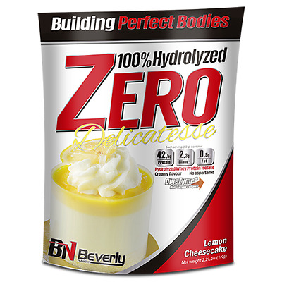 Beverly Nutrition - Hydrolized Zero Delicatesse, 1000 G, Tarta De Queso C/ Limon