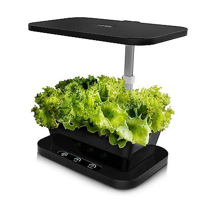SWM LED Indoor Herb Grower Intelligent Control Hydroponics Grower Kit Garden for