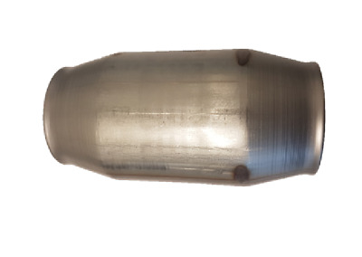 "2 1/2"" Stainless Steel 409 Bullet Cat Converter - 100 Cell High Flow"