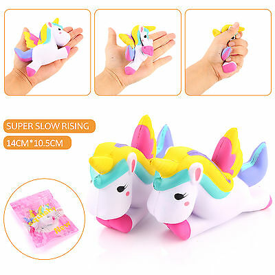 12CM Kawaii Colossal Squishy Unicorn VERY RARE TOY Slow Rising Collectibles Gift