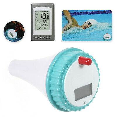Professional Wireless Digital Swimming Pool Floating Thermometer (WD1228A)