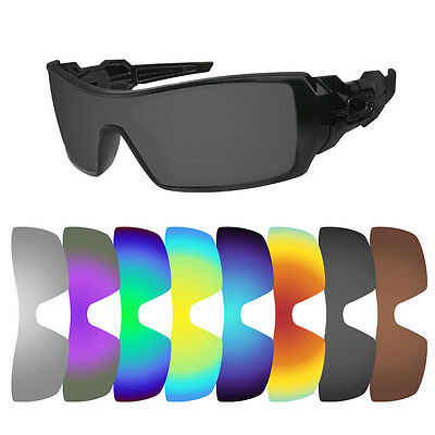 7b12d99551 Polarized Replacement Lenses for Oakley Oil Rig Sunglasses - Multiple  Options