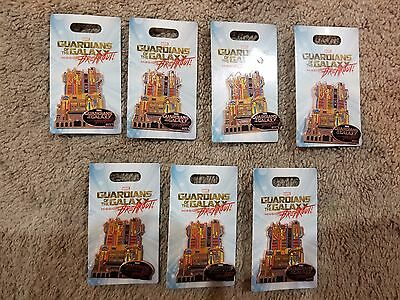 Marvel Guardians of the Galaxy: Mission Breakout Fortress Pin Disneyland LE NEW