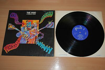 THE WHO A Quick One UK LP NICE 1966 MONO REACTION 1ST PRESS LOVELY AUDIO 593002