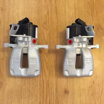 OEM VW Passat B6 Rear LEFT+RIGHT TRW electric brake caliper 05-07 EPB