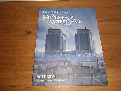 The Art Of Disney's The Hunchback Of Notre Dame Sotheby's New York June 1997