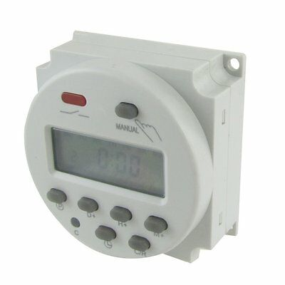 DC 24V Digital LCD Power Programmable Timer Time Switch Relay 10A FREE SHIP