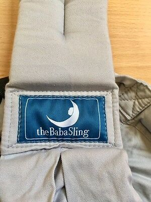 Baba Sling Classic Baby Carrier In Grey