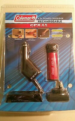 BRAND NEW Coleman CPX 4.5V Rechargeable Power Cartridge - FREE POST!!