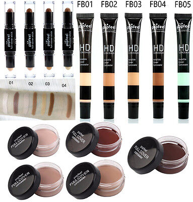 Cosmetic Face Lip Cover Cream Base Makeup Nake Liquid Concealer Foundation Stick