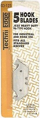 Utility Blade,96-Typ Hook 5/Cd by IDL TECHNI EDGE MFG. CORP, 3PK