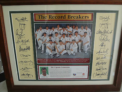 Steve Waugh,,the Record Breakers ,,170/1000,,can Post ,